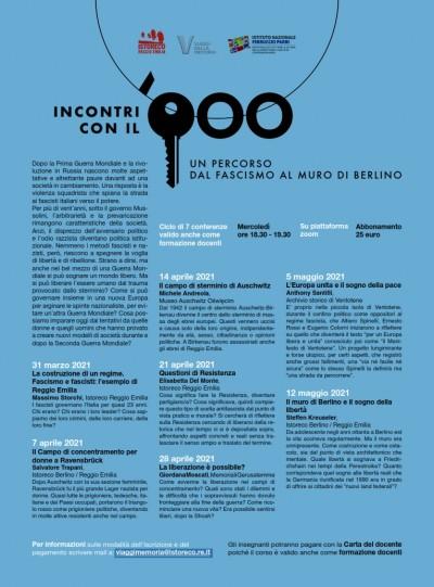INCONTRI CON IL '900 - ISTORECO