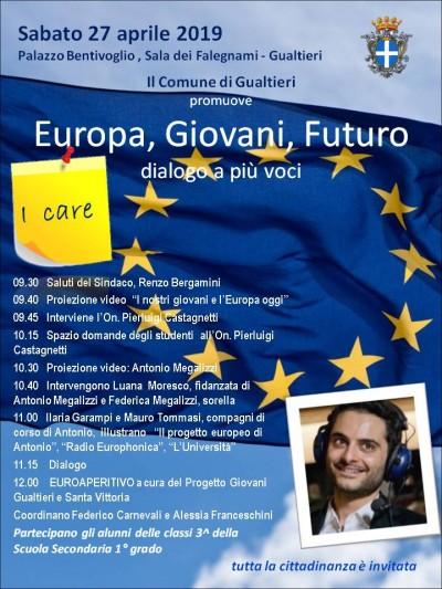 EUROPA, GIOVANI, FUTURO