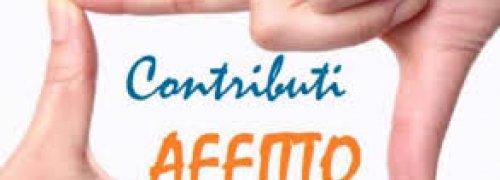 Avviso pubblico per l'erogazione di contributi Fondo Affitto 2020